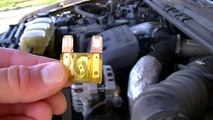 Fuel pump/ Fuel tank removal or replacement 1995 Honda