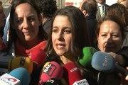 Arrimadas señala que el Gobierno no ataca a Cataluña