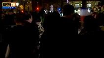Attentats: Angela Merkel rend hommage aux victimes place de la République