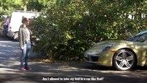 Ils passent leur permis de conduire avec une Porsche