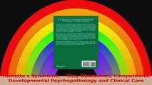 Tourettes Syndrome  Tics Obsessions Compulsions Developmental Psychopathology and Read Online