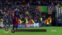 Lionel Messi toma una pastilla en pleno partido ante AS Roma para evitar los vómitos