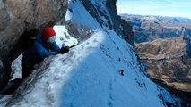 #1 Voie Heckmair Face Nord de l'Eiger 3970 mètres Alpes Bernoises alpinisme
