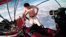 Antti Pendikainen -- Hot Air Balloon Ride without parachute!