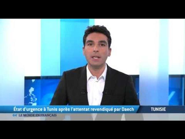 Tunisie: Etat d'urgence à Tunis, après l'attentat revendiqué par Daech | Godialy.com