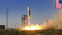 Jeff Bezos' space flight travel company successfully tests reusable rocket