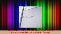 PDF Download  Featherweights Light Mobile and Floating Architecture Architecture in Focus Download Full Ebook