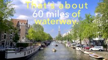 Explore the Canals and Streets of Beautiful Amsterdam