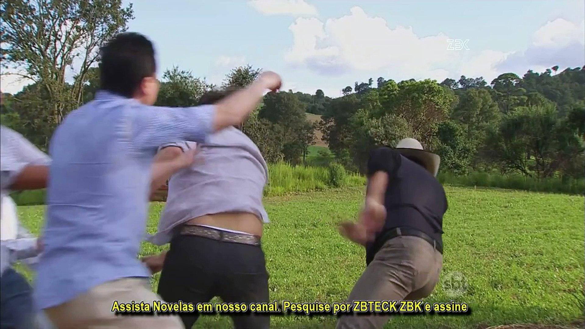 Coração Indomável HD Otávio e Álvaro trocam socos SEM CORTES