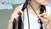 Loop Braid Hair Tutorial  Braided Hairstyle - Bebexo
