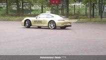 Passer son permis de conduire sur une Porsche 911...