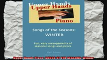 Upper Hands Piano SONGS OF THE SEASONS Winter