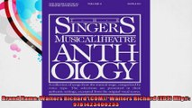 The Singers Musical Theatre Anthology  Soprano Book only Singers Musical Theatre