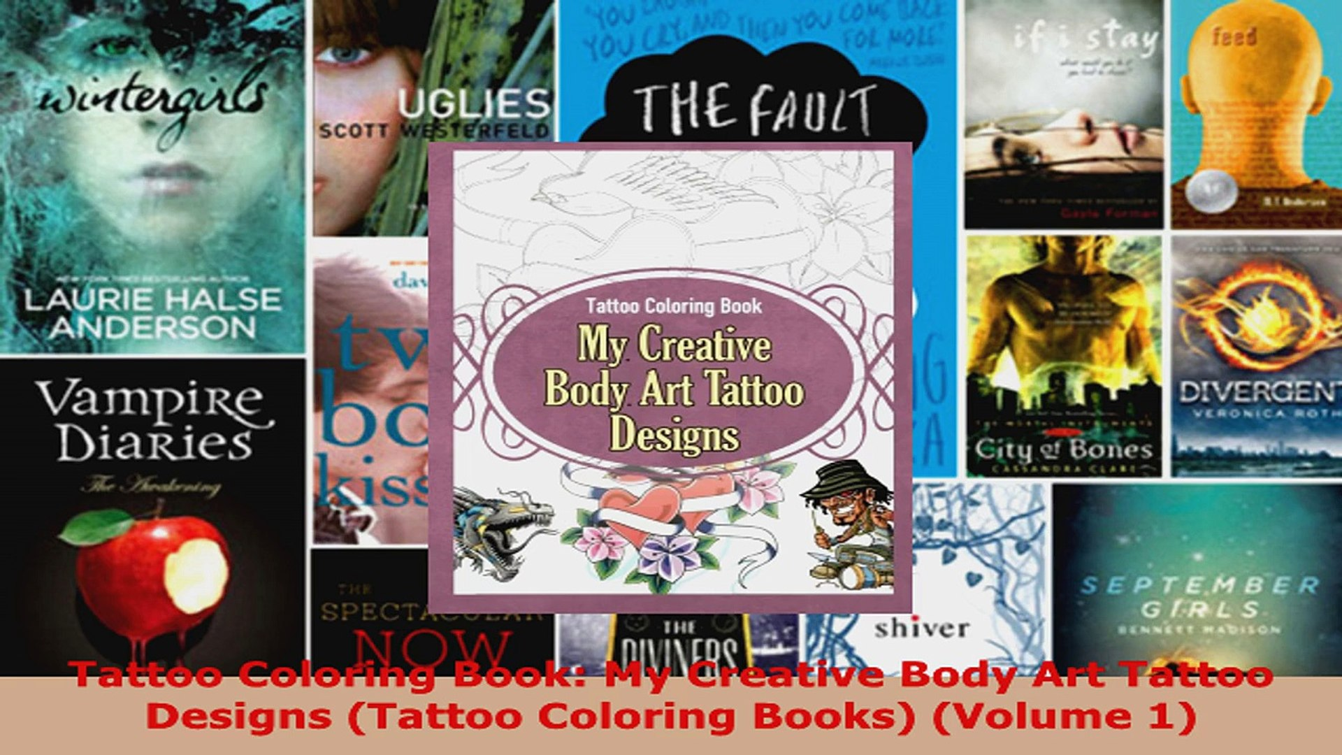 - Read Tattoo Coloring Book My Creative Body Art Tattoo Designs