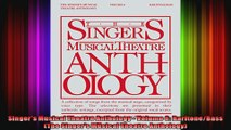 Singers Musical Theatre Anthology  Volume 6 BaritoneBass The Singers Musical Theatre