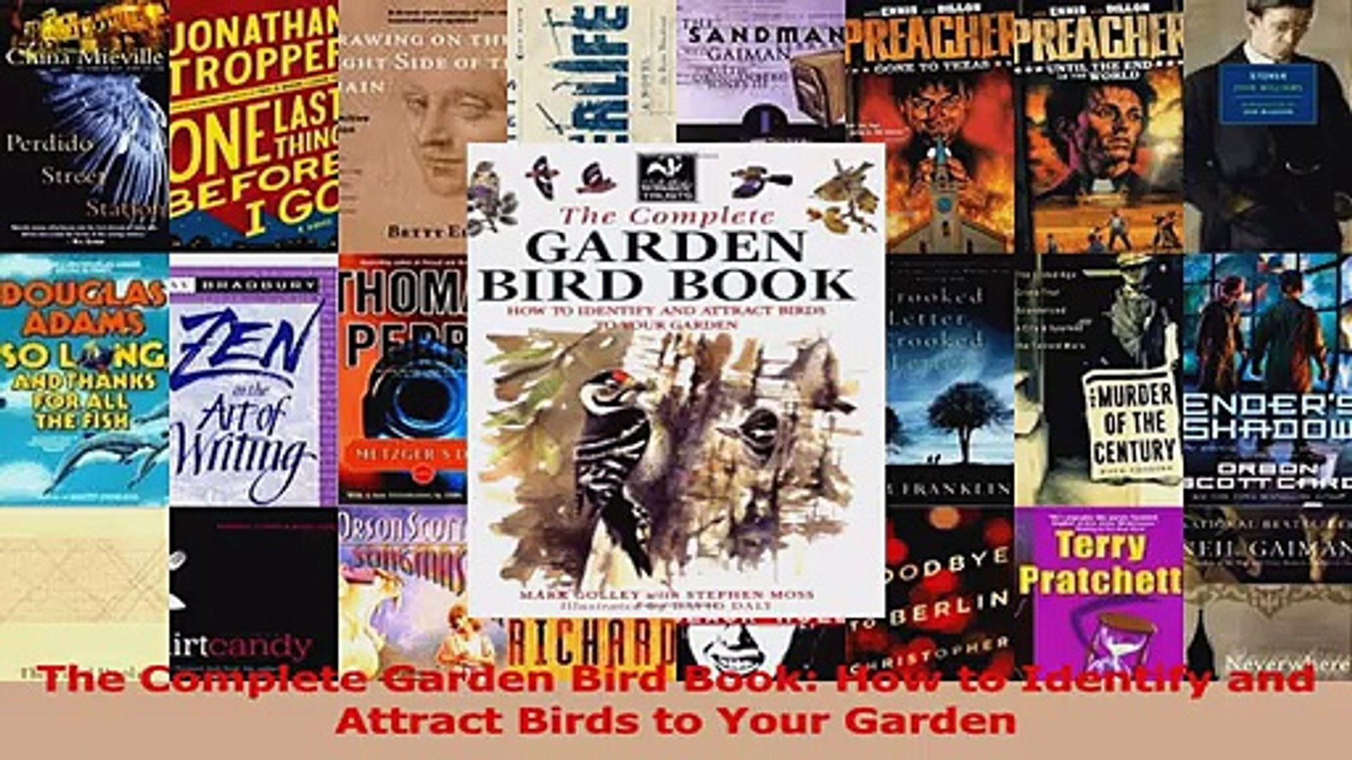 Read  The Complete Garden Bird Book How to Identify and Attract Birds to Your Garden Ebook Free