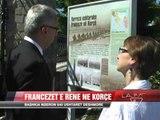 Bashkia e Korçës nderon 640 ushtarët francezë  - News, Lajme - Vizion Plus