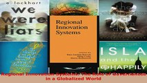 Read  Regional Innovation Systems The Role of Governances in a Globalized World Ebook Free