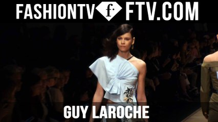 First Look at the Guy Laroche Spring 2016 Collection in Paris | FTV.com