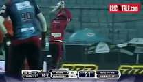First Hat-Trick in BPL. Al-Amin Hossain Took Hat-trick against Sylhet Super Stars in BPL 2015, 24-09-2015.