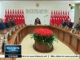 Premier turco dialoga con mandos militares sobre tensión con Rusia