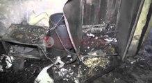 Skrapar , Rrufeja djeg banesën, shpëtojnë të 12 anëtarët e familjes Qato por pa strehë- Ora News