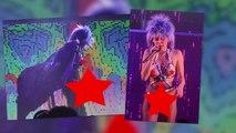 Miley Cyrus Shocks Live