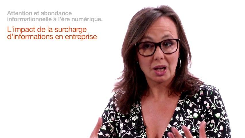 Caroline Sauvageol - L'impact de la surcharge d'information en entreprise
