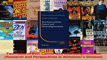 Two Faces of Evil Cancer and Neurodegeneration Research and Perspectives in Alzheimers PDF