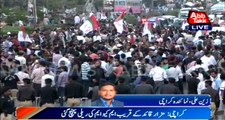MQM stages rally to protest workers' arrest