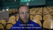 HH 2015-11-21 Hockey D2 - Interview Ludovic Garreau Entraineur Castors d'Avignon