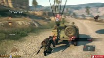 Metal Gear Solid V: The Phantom Pain - Mission 34: [Extreme] Backup, Back Down S-Rank Walk