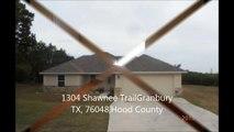 1304 Shawnee TrailGranbury  TX, 76048,Hood County