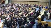 """Le pape avertit qu'un échec de la COP21 serait """"catastrophique"""""""