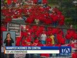 Diferentes provincias se adhirieron a jornada de marchas