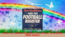 2006 Pro Football Register Every Player Every Stat 2006 Edition PDF