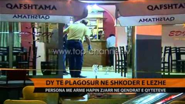 Dy të plagosur në Shkodër e Lezhë - Top Channel Albania - News - Lajme