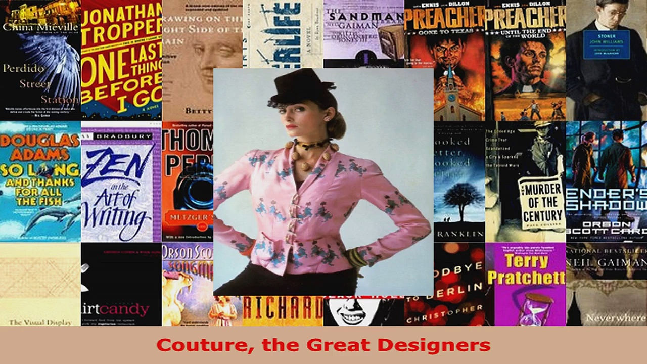 Read  Couture the Great Designers EBooks Online
