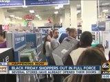 Black Friday shopping underway on turkey day