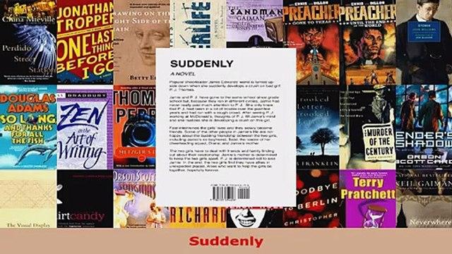Read  Suddenly EBooks Online