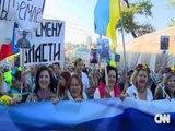 MARSHIM PROTESTE NE MOSKE KUNDER POLITIKAVE DHE LUFTES SE PUTIN NE UKRAINE LAJM