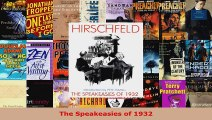 Read  The Speakeasies of 1932 EBooks Online