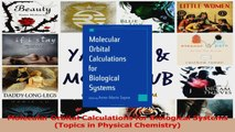 Download  Molecular Orbital Calculations for Biological Systems Topics in Physical Chemistry PDF Free