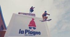 Une course-poursuite épique à skis à La Plagne
