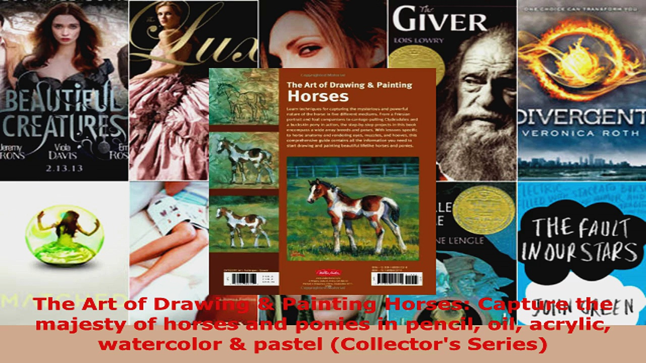 Download  The Art of Drawing  Painting Horses Capture the majesty of horses and ponies in pencil EBooks Online
