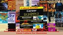 Read  Career For Dummies Three eBook Bundle Job Interviews For Dummies Resumes For Dummies EBooks Online