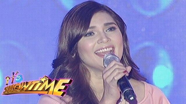 """It's Showtime: Vina Morales sings """"Pangako Sa'Yo"""""""