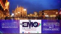 Berg & Co. GmbH Spanntechnik zur EMO Mailand Milano Milan 2015 - Euroblech 2016 - EMO Hannover 2017