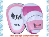 BOOM Ladies MMA Punch mitts Focus Pads Boxing Set (FREE UK SHIPPING)