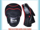 BOOM Boxing Focus Pads Punch Mitts MMA Hook and Jab (FREE UK SHIPPING)